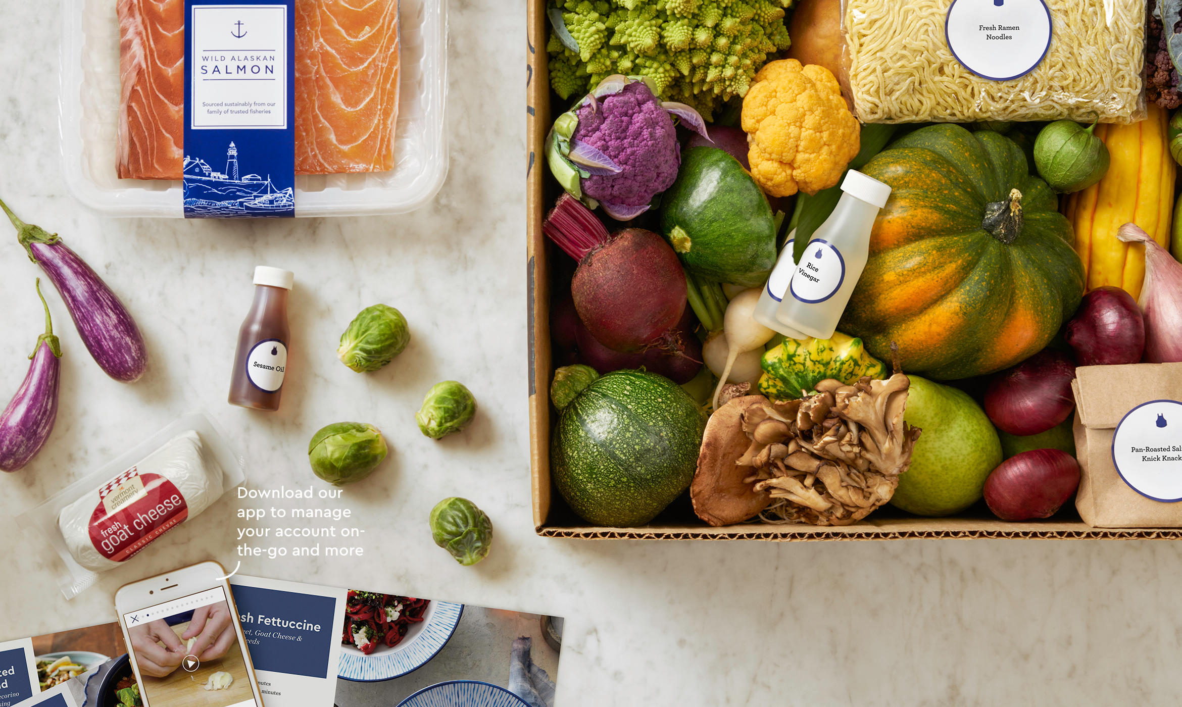 How can you get prepackaged meals at your doorstep?